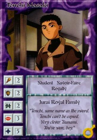 Scan of 'Tenchi Masaki' Ani-Mayhem card