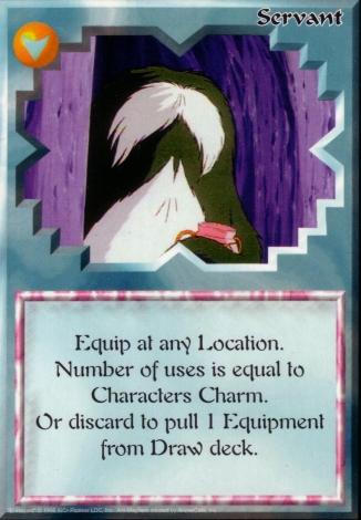 Scan of 'Servant' Ani-Mayhem card