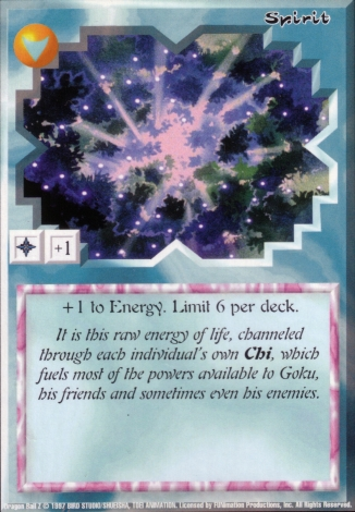 Scan of 'Spirit' Ani-Mayhem card