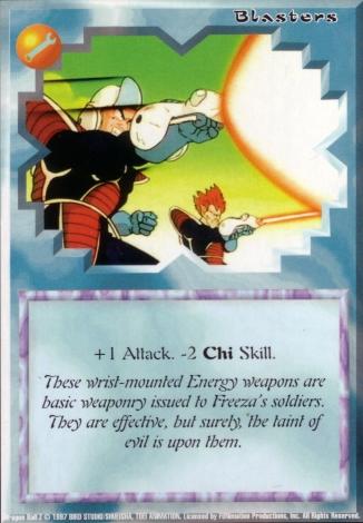 Scan of 'Blasters' Ani-Mayhem card