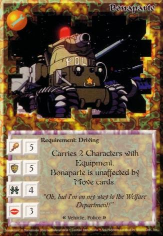 Scan of 'Bonaparte' Ani-Mayhem card