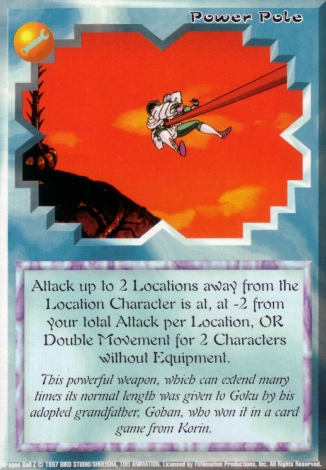 Scan of final 'Power Pole' Ani-Mayhem card