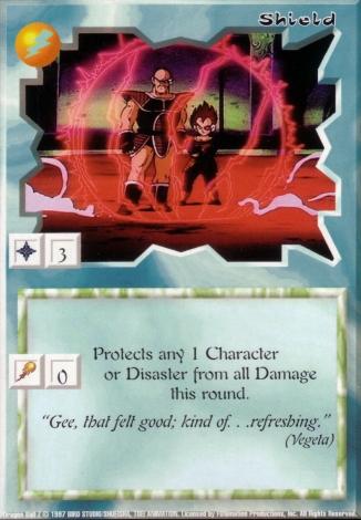 Scan of final 'Shield' Ani-Mayhem card
