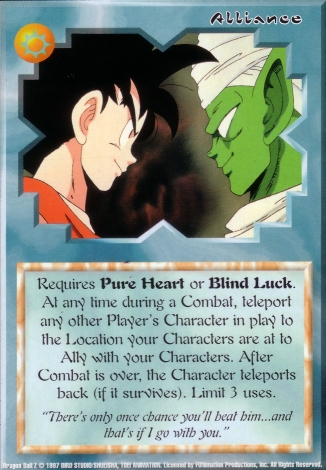Scan of 'Alliance' Ani-Mayhem card