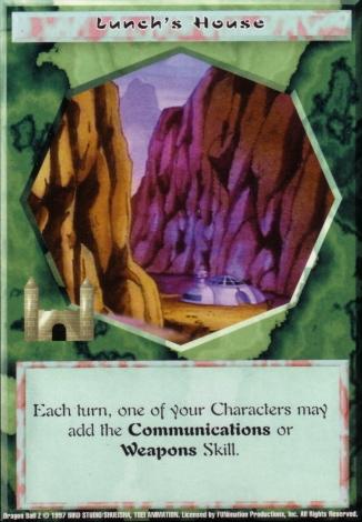 Scan of final 'Lunch's House' Ani-Mayhem card