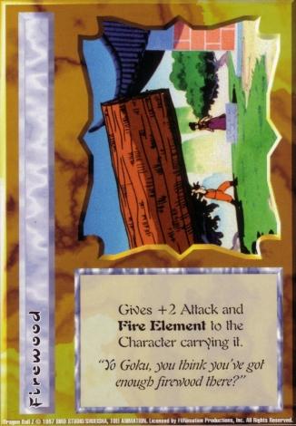 Scan of final 'Firewood' Ani-Mayhem card
