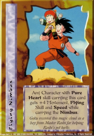 Scan of 'Flying Nimbus' Ani-Mayhem card