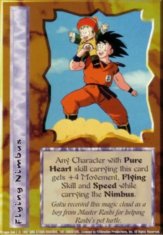 Scan of final 'Flying Nimbus' Ani-Mayhem card