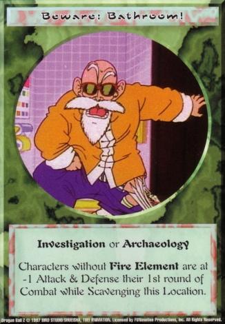 Scan of final 'Beware: Bathroom!' Ani-Mayhem card