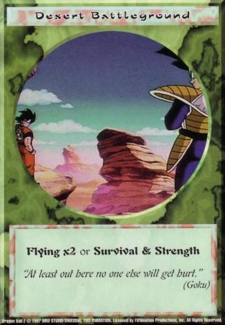 Scan of final 'Desert Battleground' Ani-Mayhem card