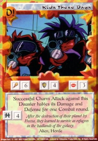 Scan of 'Kids These Days' Ani-Mayhem card