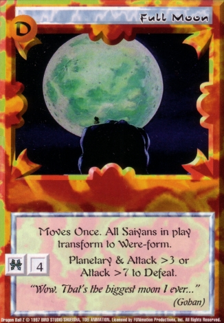 Scan of final 'Full Moon' Ani-Mayhem card