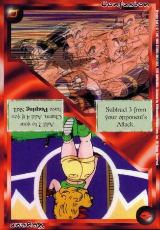 Scan of 'Confusion / Voyeur' Ani-Mayhem card