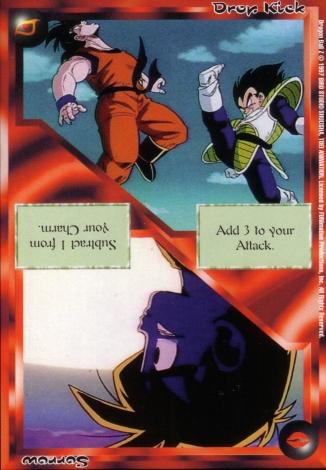 Scan of 'Drop Kick / Sorrow' Ani-Mayhem card