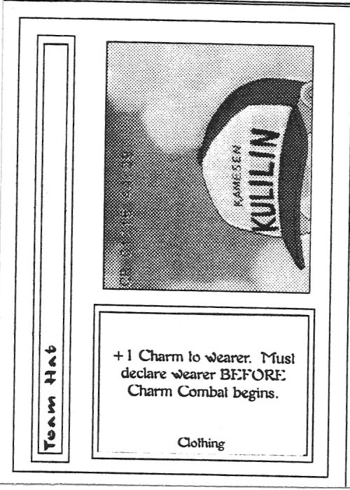 Scan of 'Team Hat' playtest card