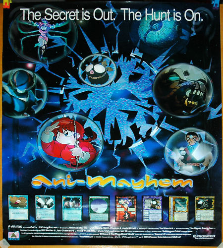Image of the promotional Ani-Mayhem poster